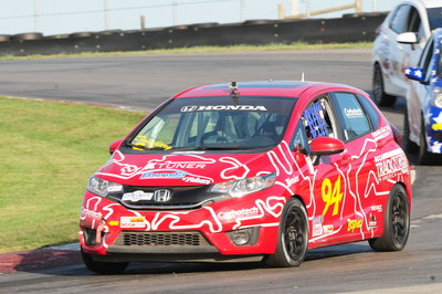 After finishing second in 2015, David Daughtery drove his Honda Fit to the SCCA B-Spec National Championship last weekend at the Mid-Ohio Sports Car Course.