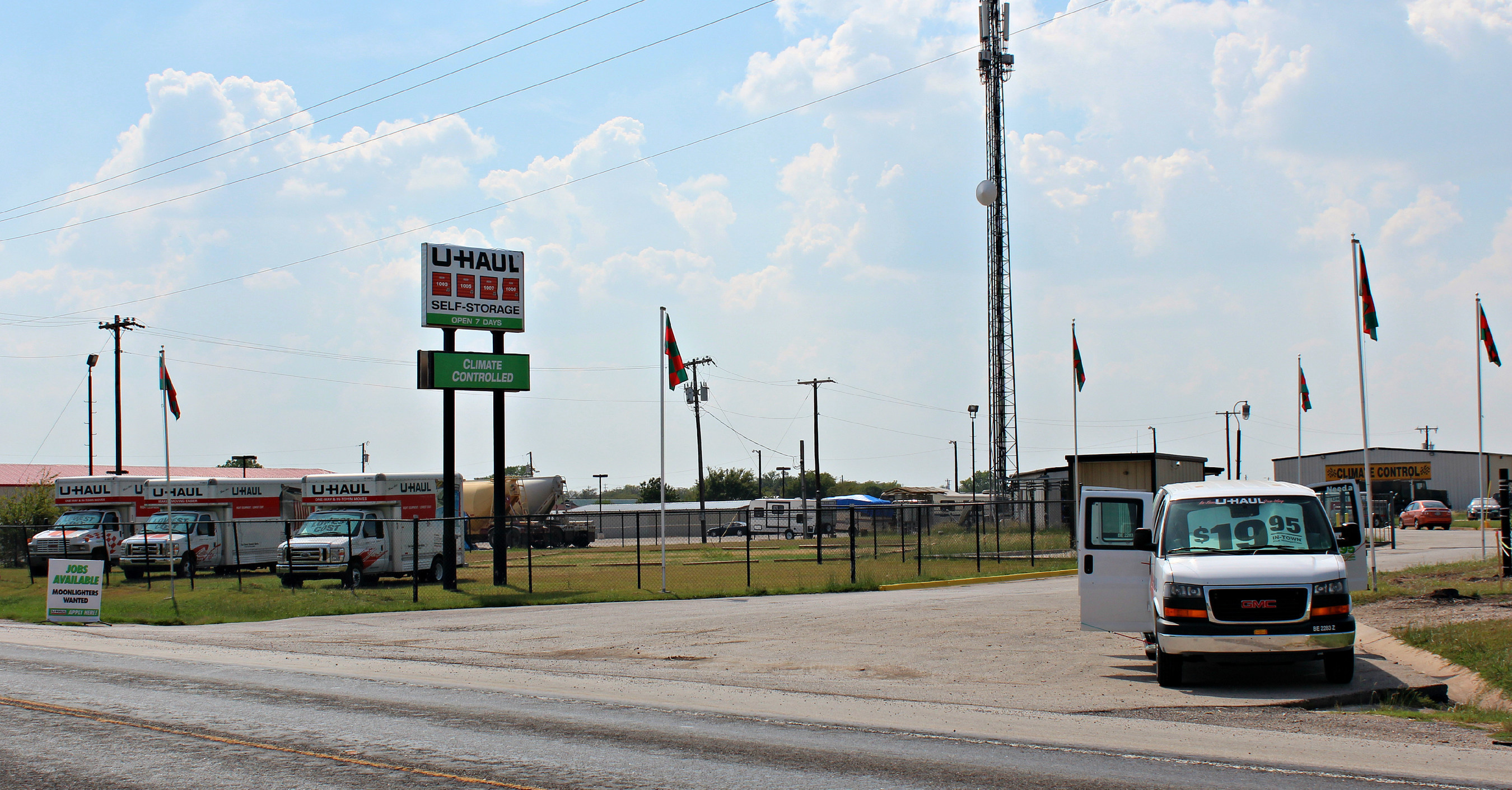 U-Haul Company of Texas is pleased to meet the needs of Denton County with the opening of its store, U-Haul Moving & Storage of Justin, at 16300 FM 156 S. The location is just one mile northwest of Texas Motor Speedway.