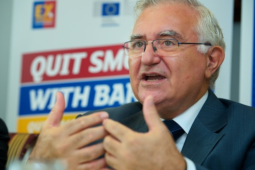 FC Barcelona And The European Commission Join Forces To Help Millions Of Europeans Quit Smoking :  John Dalli, European Commissioner for Health and Consumers