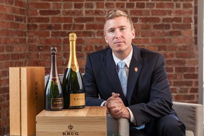 Ian Cauble, Krug US Brand Ambassador.  (PRNewsFoto/Krug Champagne)