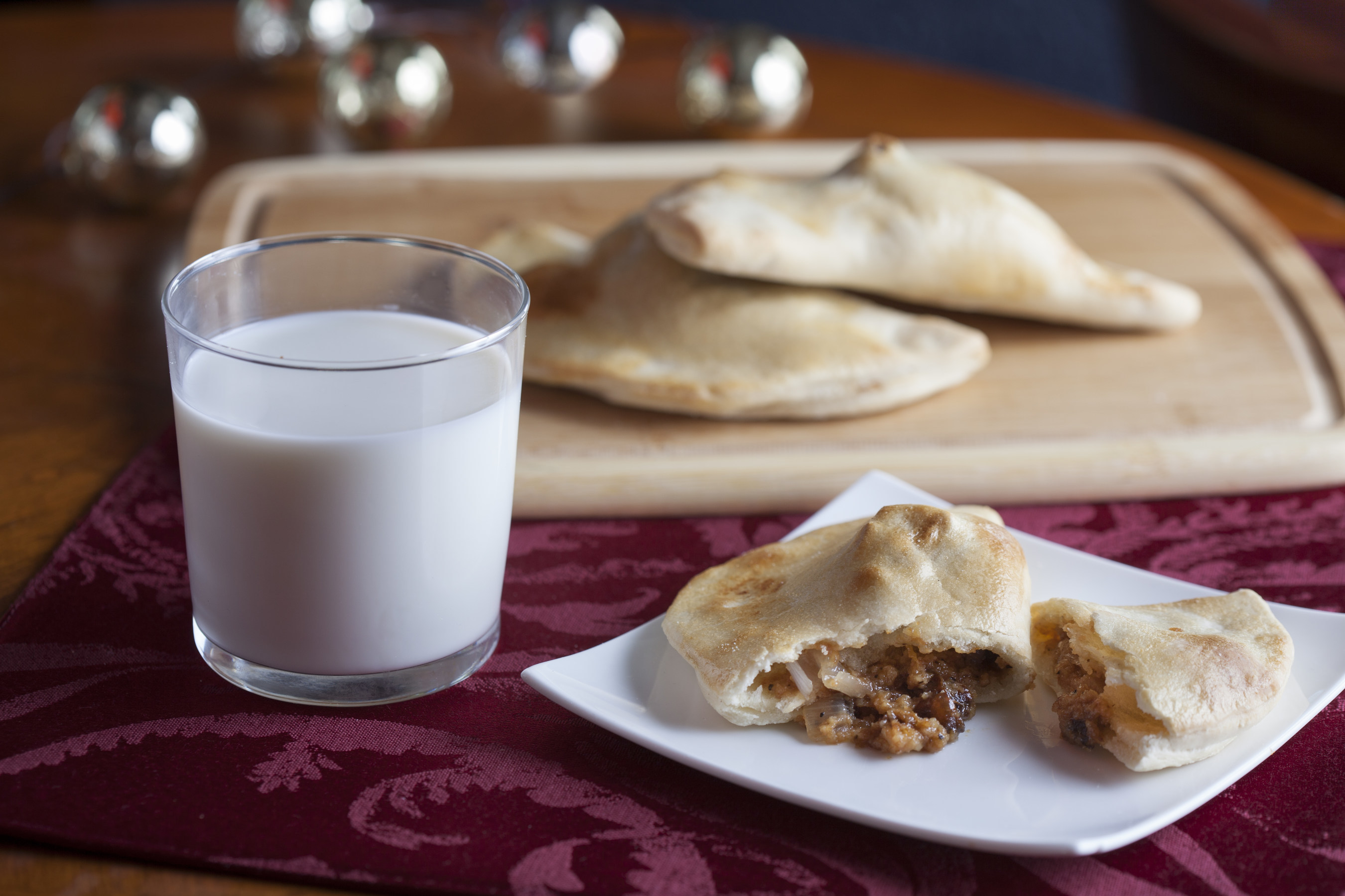 Sweet and Savory Breakfast Empanadas + Milk, by Chef Pablo Romano
