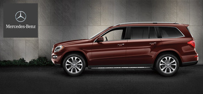 The Mercedes-Benz GL450 provides a luxurious ride for up to seven passengers.  (PRNewsFoto/Loeber Motors)