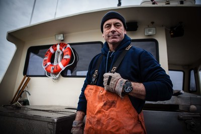 Sixth generation lobsterman and former Marine Michael Richard Burns wearing the Master of G GULFMASTER (GN1000)