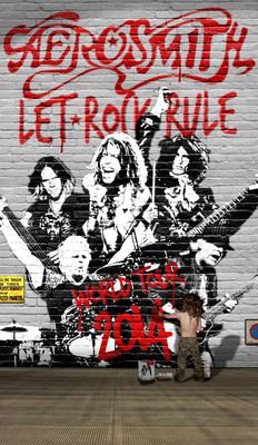 AEROSMITH ANNOUNCES LET ROCK RULE TOUR.  (PRNewsFoto/Live Nation Entertainment)