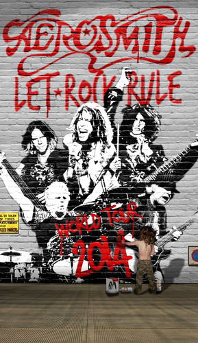 AEROSMITH ANNOUNCES LET ROCK RULE TOUR.  (PRNewsFoto/Live Nation Entertainment)