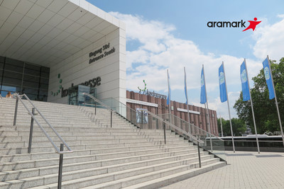 Aramark received a new 10-year contract to provide food service for the Cologne Trade Fair in Germany. The venue is the sixth largest exhibition and conference center in the world.