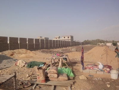 Phase-I Construction- Security Boundary On 40,000 sqft Site (PRNewsFoto/Verde Media Group Inc.)