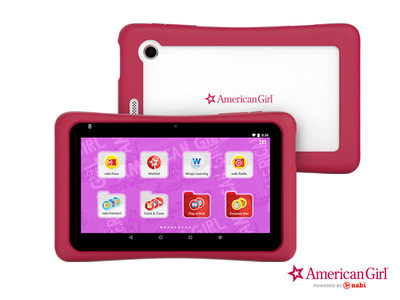 Mattel Introduces the Barbie(TM) Tablet, Hot Wheels(TM) Tablet, and American Girl(R) Tablet Powered by nabi(R)
