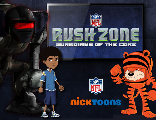 Nickelodeon and National Football League Team Up on New Animated Short-Form Series