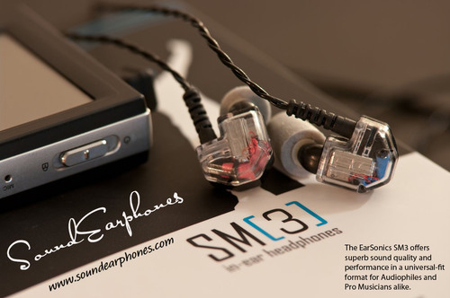 EarSonics SM3 Defines the Best Earphone and is Now Available in the U.S. Exclusively at