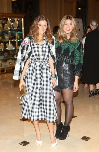 Noor Al Sabah and Ayah Tabari (PRNewsFoto/Farfetch and Style_com_Arabia)