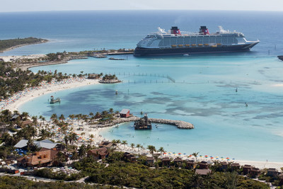 All 2018 Disney Cruise Line sailings from Port Canaveral and Miami to the Bahamas and Caribbean include a stop at Castaway Cay, Disney's private island paradise. In a setting of crystal-clear turquoise waters, powdery white-sand beaches and lush landscapes, the island offers activities for every member of the family. (David Roark, photographer)