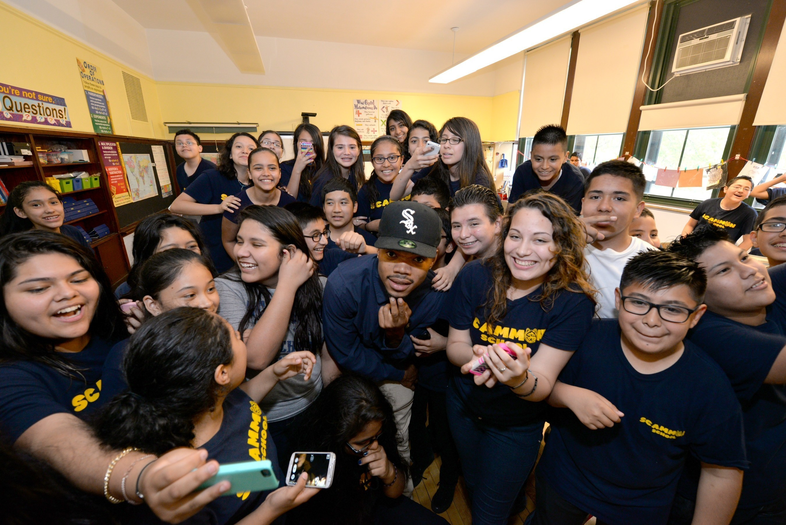 Chance The Rapper Recognizes Two Chicago Schools For Earning Most Points In 'Get Schooled, Get Connected' Spring Challenge