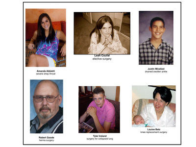 Help us ensure patients are receiving the care they deserve! None of these patients went home from hospital. Yet, all had successful surgeries or were waiting to go home ... but they never made it.