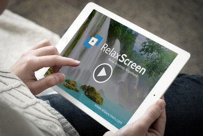 Relax Screen allows it's users to pick their ideal location and then sit back and relax.