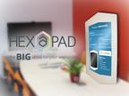Hexapad - The Wall Tablet (PRNewsFoto/Hexapad)
