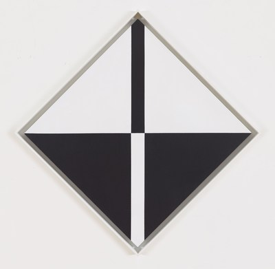 Reverse, 1964, Acrylic on canvas, 37 x 37 inches