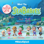 """NEW!  SEVEN """"BABIES"""" FROM THE SEA EMPOWER CHILDREN TO MAKE A DIFFERENCE. This new consumer product line inspires kids to play, save and love!"""
