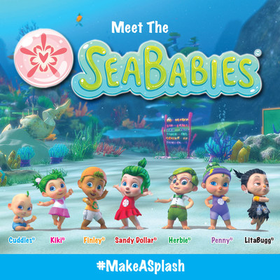 "NEW!  SEVEN ""BABIES"" FROM THE SEA EMPOWER CHILDREN TO MAKE A DIFFERENCE. This new consumer product line inspires kids to play, save and love!"