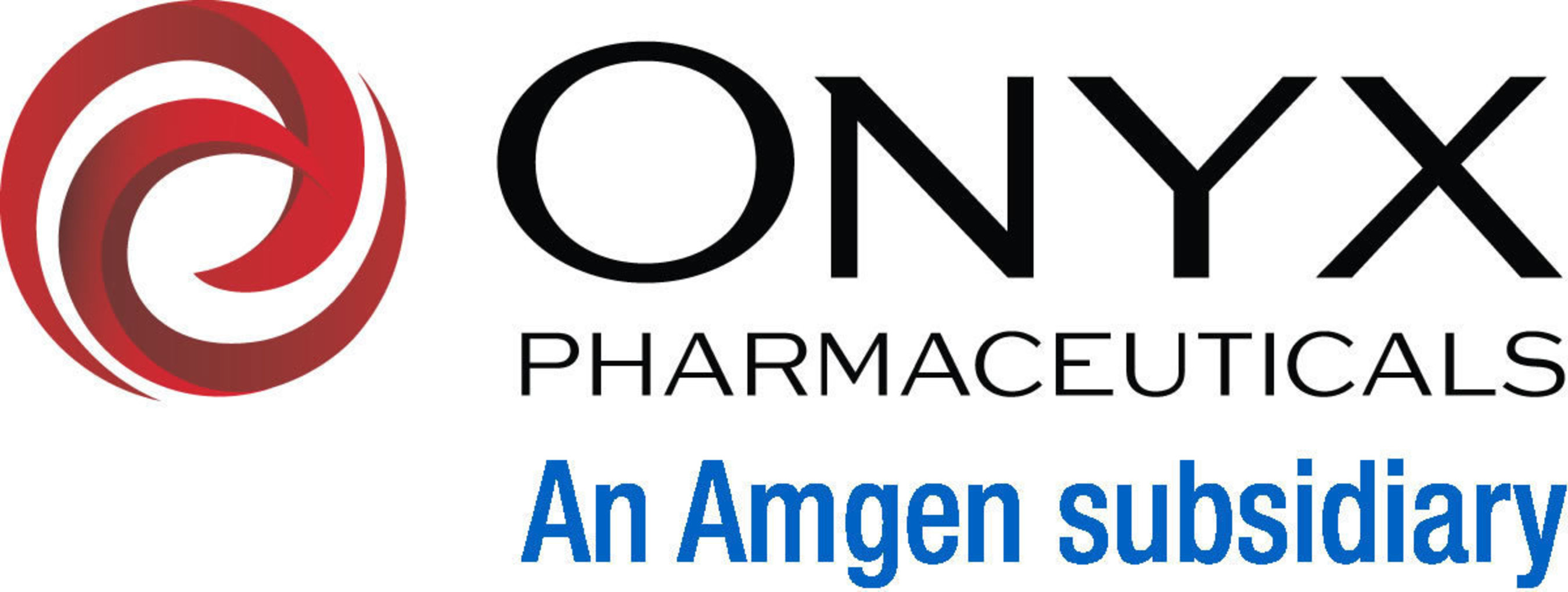 Onyx Pharmaceuticals An Amgen subsidiary logo (PRNewsFoto/Bayer HealthCare Pharmaceuticals)
