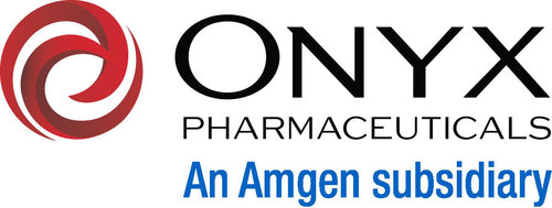 Onyx Pharmaceuticals An Amgen subsidiary logo (PRNewsFoto/Bayer HealthCare Pharmaceuticals)