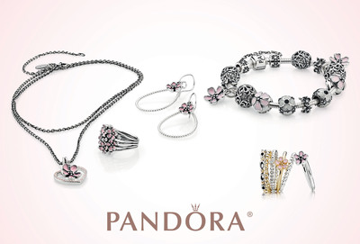 PANDORA Jewelry Captures the Enduring Beauty of Cherry Blossoms.  (PRNewsFoto/PANDORA Jewelry)