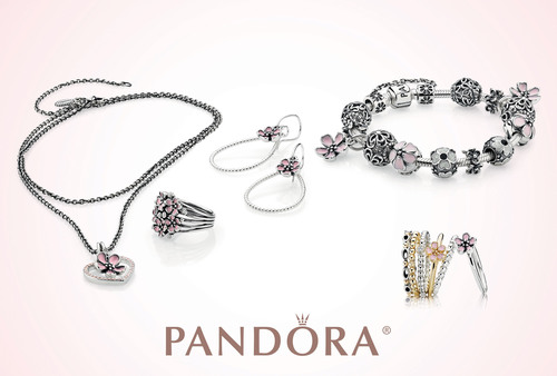 PANDORA Jewelry Captures the Enduring Beauty of Cherry Blossoms.  (PRNewsFoto/PANDORA Jewelry)