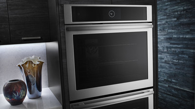 A sleek, dual convection wall oven from Jenn-Air will be the brand's first with wireless connectivity and a fully functioning application for IOS and Android devices.
