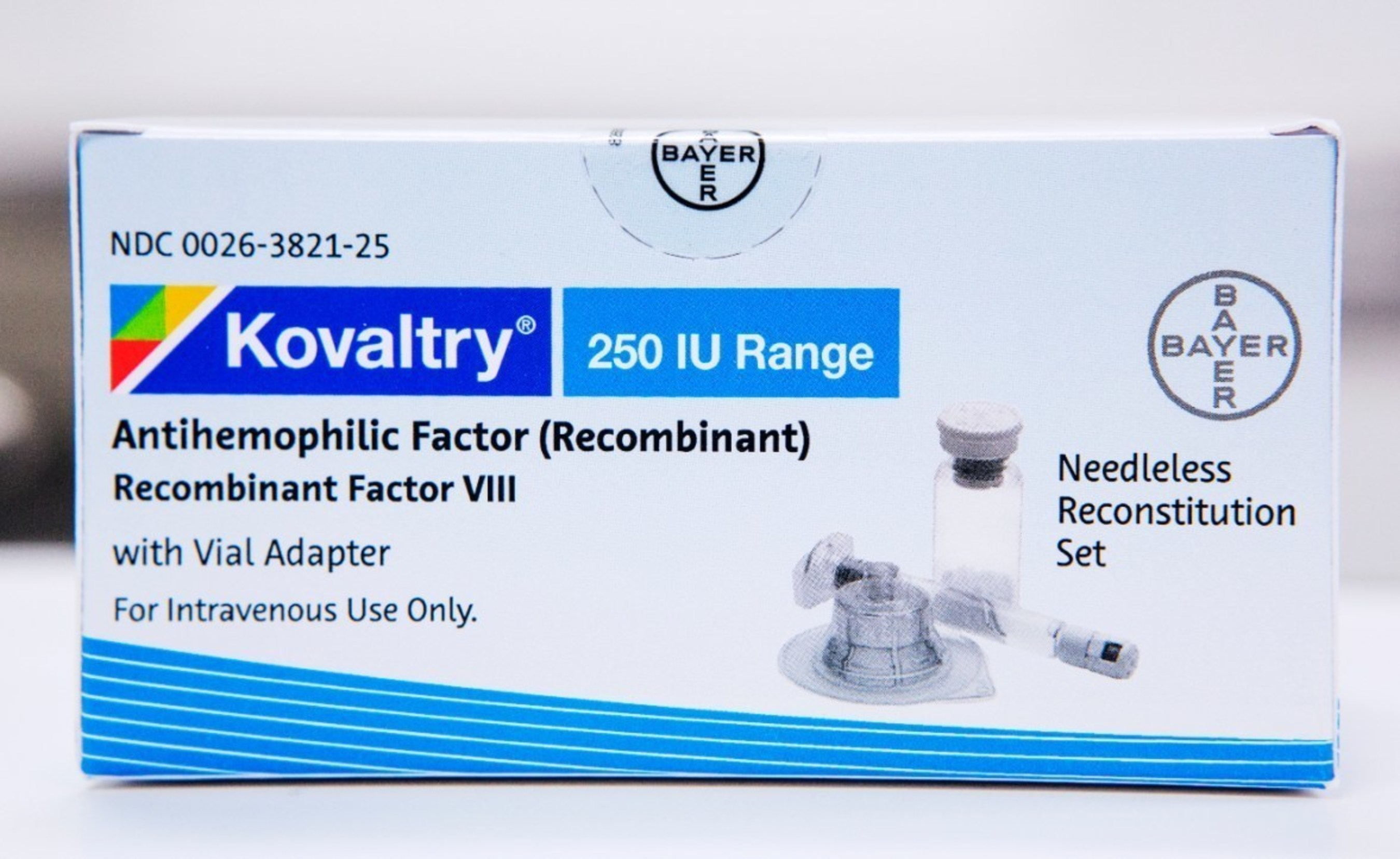 The FDA today approved Bayer's KOVALTRY(R) Antihemophilic Factor (Recombinant).