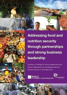 FrieslandCampina and Forum for the Future launch new food and nutrition security report