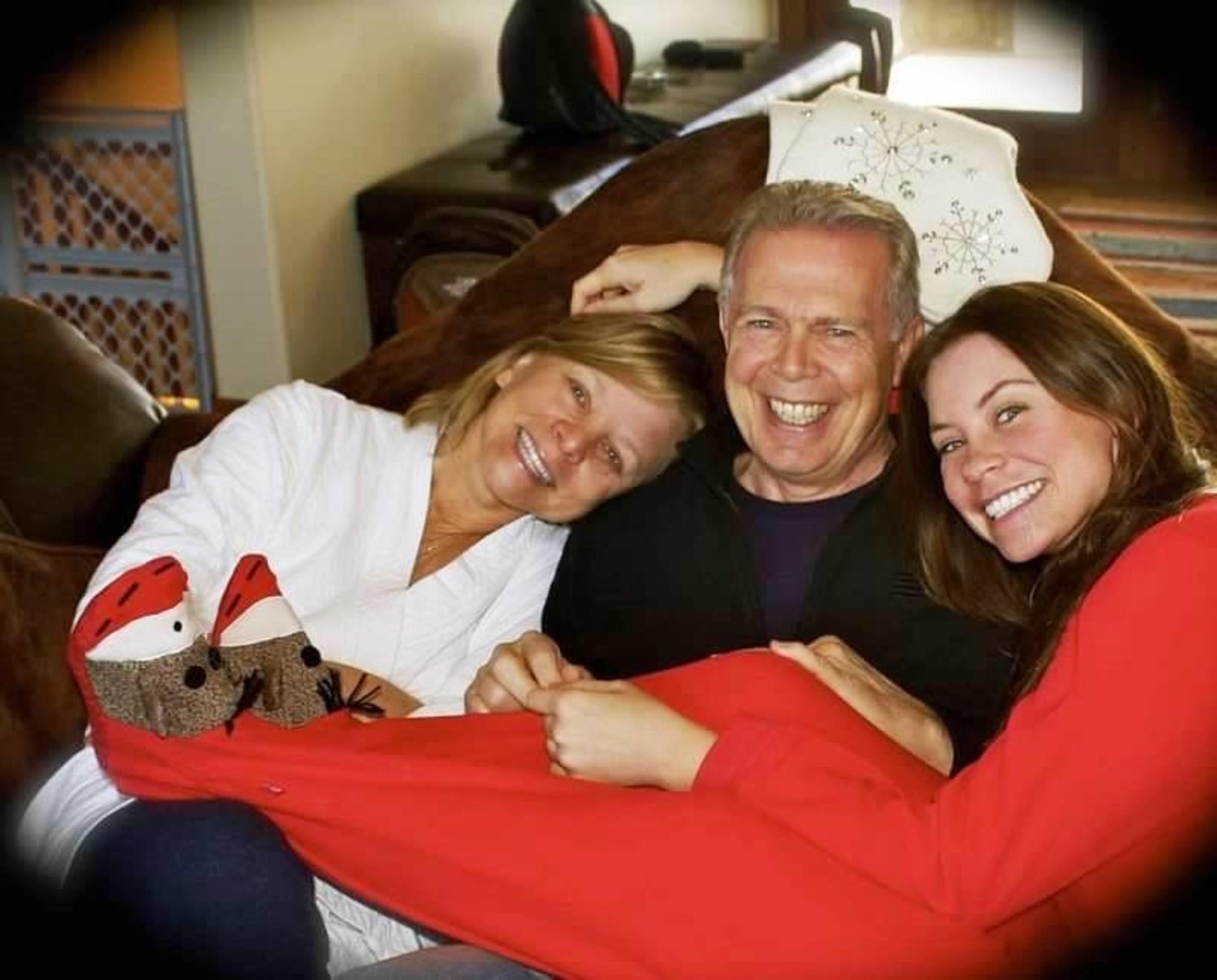 Debbie Ziegler, husband Gary Holmes, Debbie's daughter Brittany Maynard