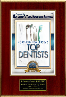 """Dr. Jeffrey S. Cooper Selected For """"Northern New Jersey's Top Dentists"""". (PRNewsFoto/American Registry) (PRNewsFoto/AMERICAN REGISTRY)"""