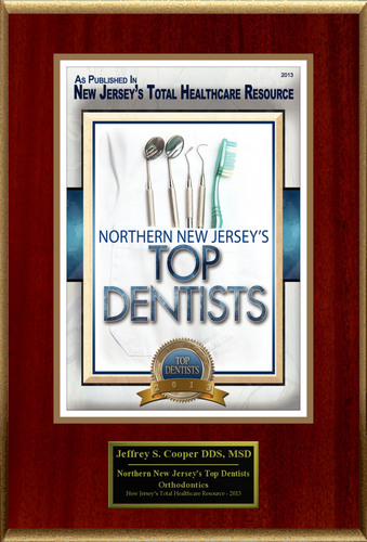 "Dr. Jeffrey S. Cooper Selected For ""Northern New Jersey's Top Dentists"".  (PRNewsFoto/American Registry)"
