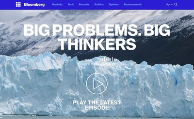 BloombergTV presents Big Problems. Big Thinkers with Terre Blair, highlighting big problems facing humanity (www.bloomberg.com/bpbt).