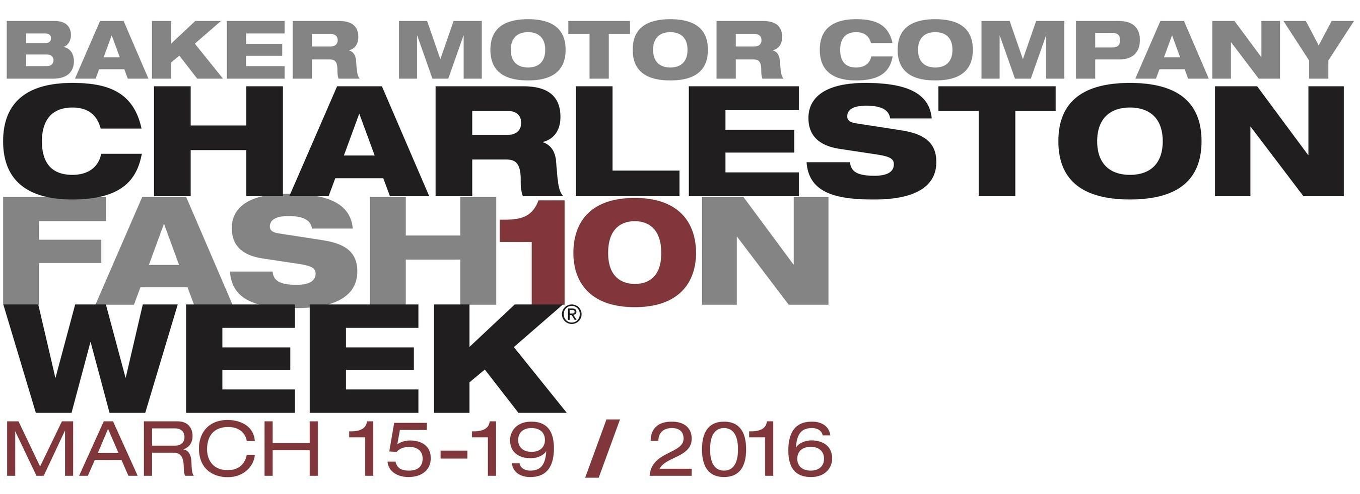 Charleston Fashion Week March 15-19, 2016