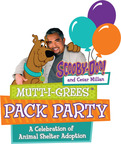 Scooby-Doo and Cesar Millan Partner with Schools Nationwide to Host Mutt-i-grees(R) Pack Parties in Collaboration with North Shore Animal League America's 2014 Tour for Life. (PRNewsFoto/Warner Bros. Consumer Products)