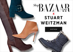 HARPER'S BAZAAR AND STUART WEITZMAN COLLABORATE ON A STREET STYLE-INSPIRED BOOT CAPSULE COLLECTION