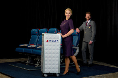 Delta Runway Reveal In-Flight Service vignette