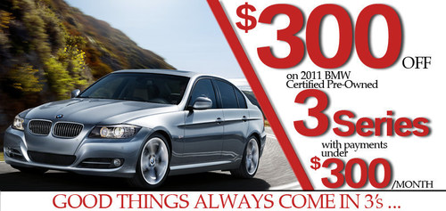 Bmw North Haven >> Good Things Come In 3 S With Certified Pre Owned Bmw 3 Series Sale