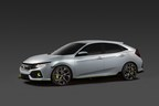 2017 Honda Civic Hatchback Prototype Brings Sporty, Euro Styling to North American Debut in New York