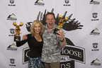 "Ted and Shemane Nugent from ""Ted Nugent Spirit of the Wild"" on Outdoor Channel, winners of the Fan Favorite Best Host at the Golden Moose Awards."