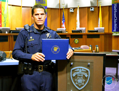 The National Law Enforcement Officers Memorial Fund has selected Lieutenant Randy Brandt, of the San Leandro (CA) Police Department (SLPD), as the recipient of its Officer of the Month Award for July 2016.