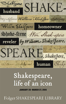 Shakespeare, Life of an Icon, a once-in-a-lifetime opportunity to see the documents that show us Shakespeare the man.