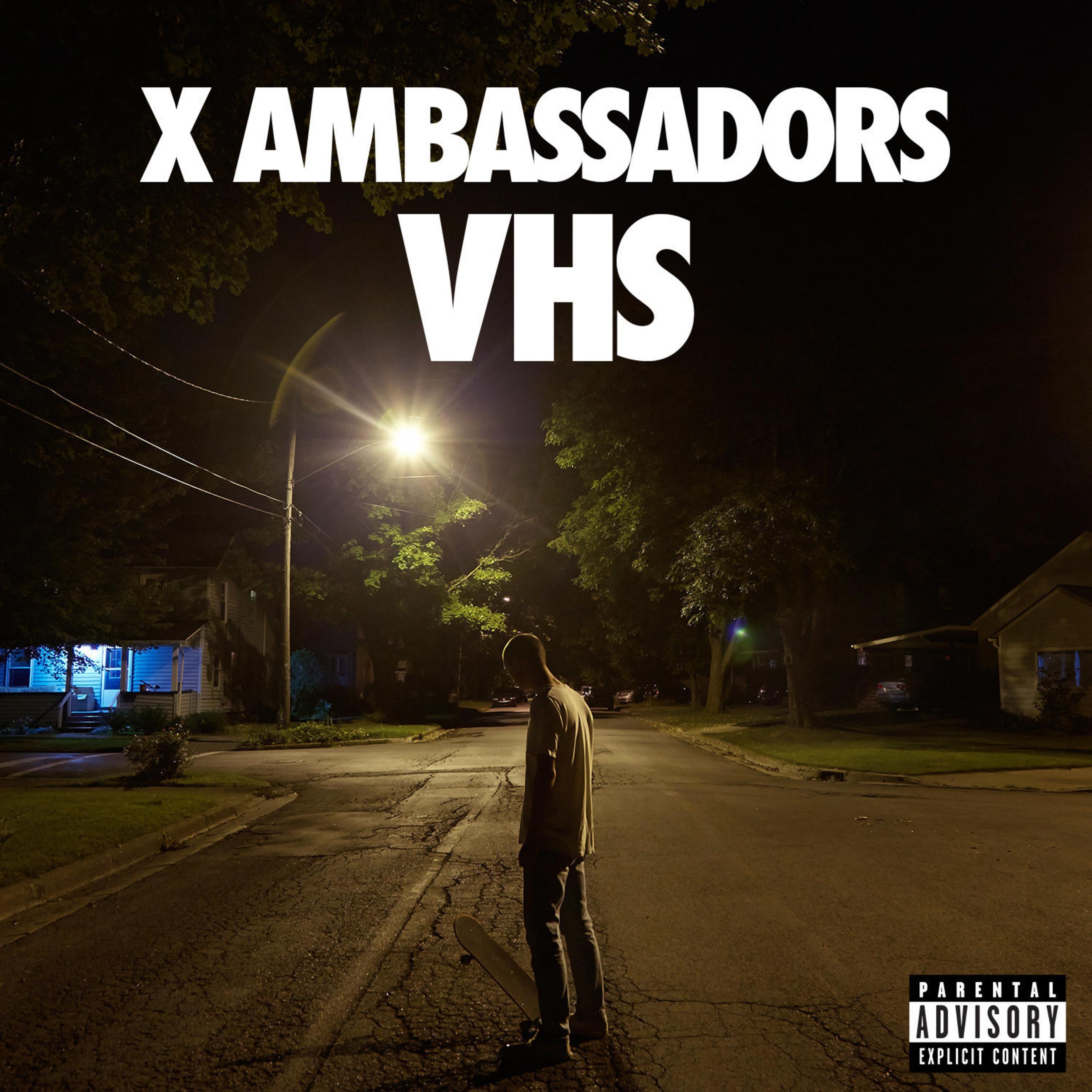 "X Ambassadors To Release Debut Album ""VHS"" June 23rd"