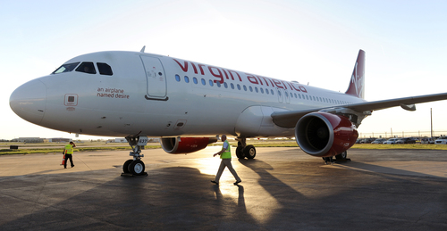 VIRGIN AMERICA LANDS LOVE: AIRLINE BRINGS NEW BUSINESS-FRIENDLY FLIGHTS TO DALLAS' LOVE FIELD ...
