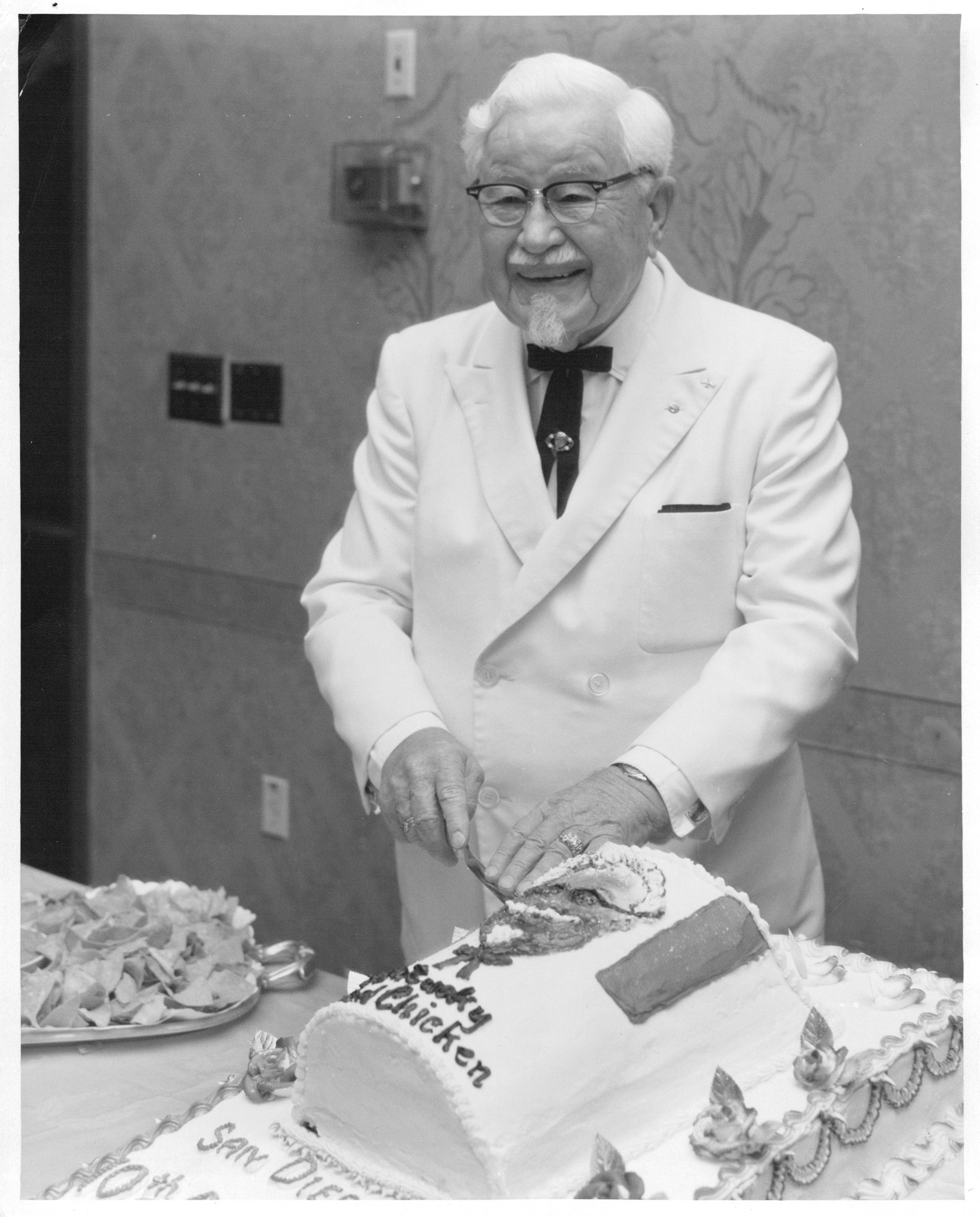 Colonel Sanders, Still Trending at 125 Years Old