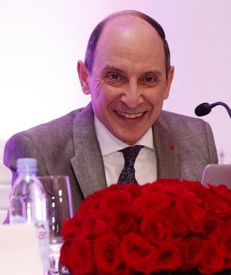 Qatar Airways Group Chief Executive H.E. Mr. Akbar Al Baker addresses media in Atlanta