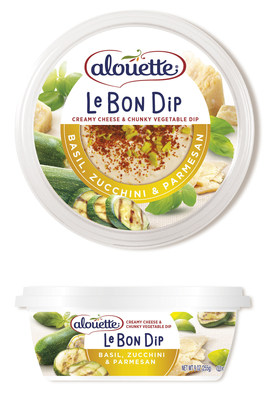 Treat yourself to a better dip with the NEW Le Bon Dip, only from Alouette! An innovative new category in snacking, Le Bon Dip ($4.29 at grocery stores nationwide) features a delicious blend of premium soft cheese, chunky vegetables you can see, and a touch of Greek yogurt for a dip that satisfies with bold, indulgent variety. Le Bon Dip contains no artificial flavors or colors and just 45 calories per serving - that's 30% fewer calories than a standard serving of hummus, but with more...