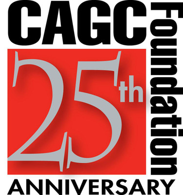 CAGC Foundation 25th Anniversary logo.  (PRNewsFoto/Carolinas Associated General Contractors)