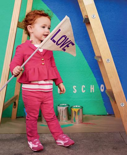 Gap Casting Call winner Rue, age 2, from Napa, CA.  (PRNewsFoto/Gap Inc.)